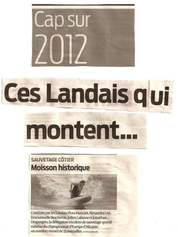cap sur 2012